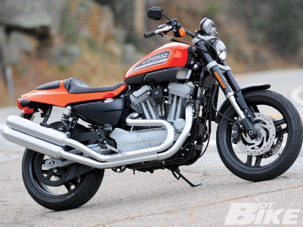 Harley-Davidson XR1200 Exhaust Pipe Comparison
